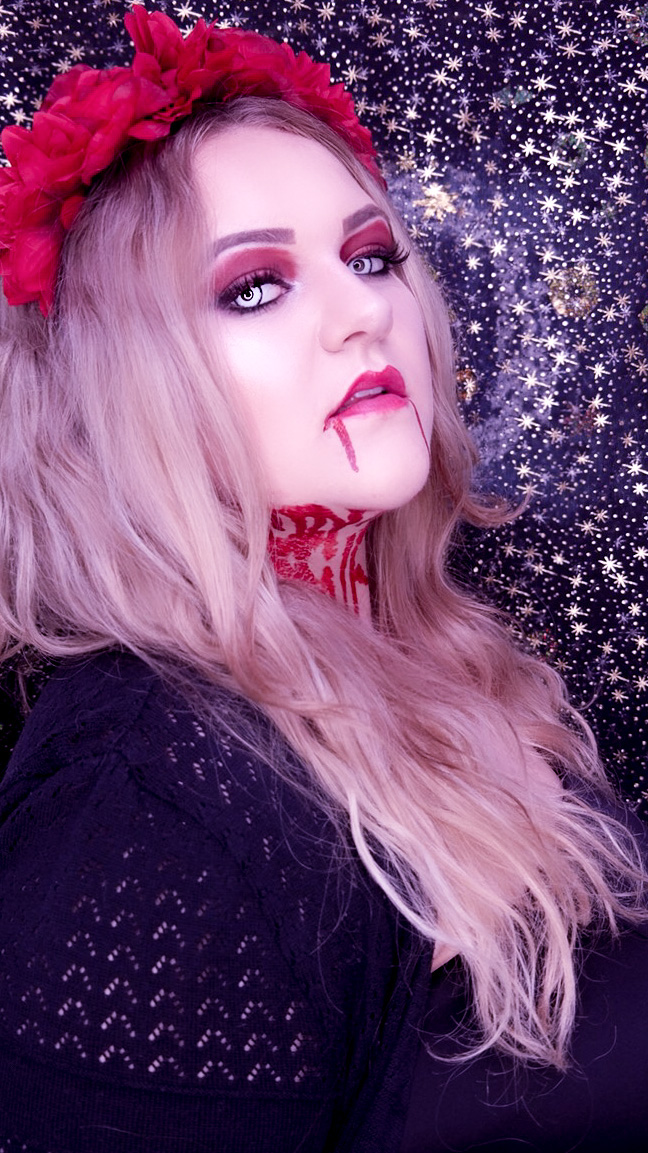 Bloody Mary Halloween MakeUp